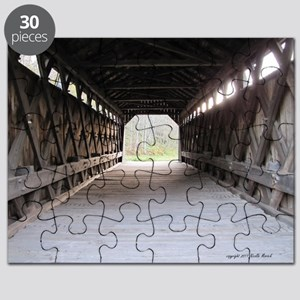 wooden bridge Puzzle