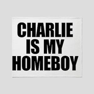 charlieismyhomeboy2 Throw Blanket