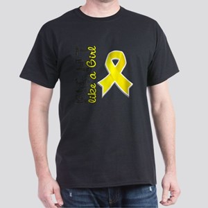 D Fight Like A Girl Endometriosis 28. Dark T-Shirt