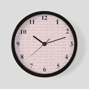 clcoksweetbaby Wall Clock