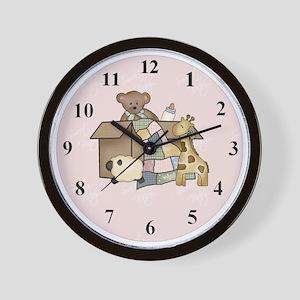 clockbabybox2 Wall Clock