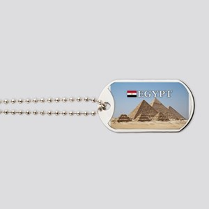 et-pic-pyramids Dog Tags