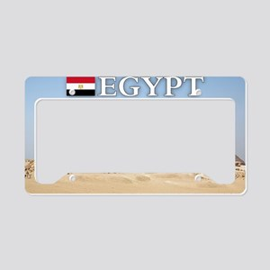 et-pic-pyramids License Plate Holder