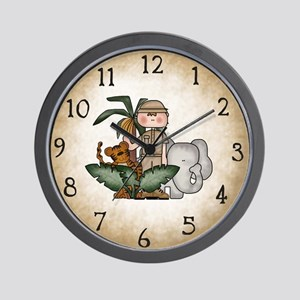clocksafari Wall Clock