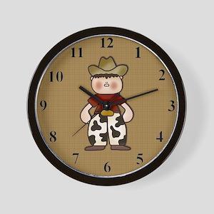 cowboyclock Wall Clock