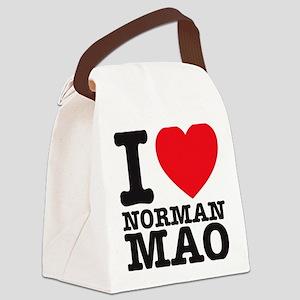 Mao T-shirt Canvas Lunch Bag