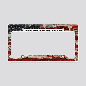 11 x17 CockBlock License Plate Holder