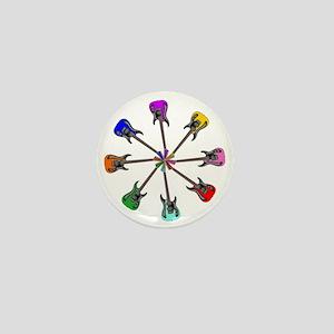 Guitar wheel - Color Mini Button