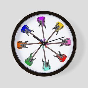 Guitar wheel - Color Wall Clock