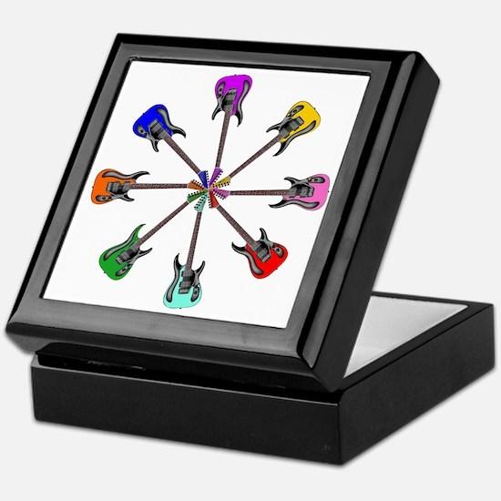 Guitar wheel - Color Keepsake Box
