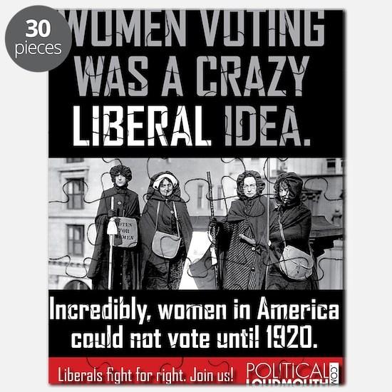 women voting Puzzle