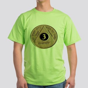 3coin Green T-Shirt
