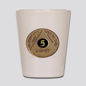 5coin Shot Glass