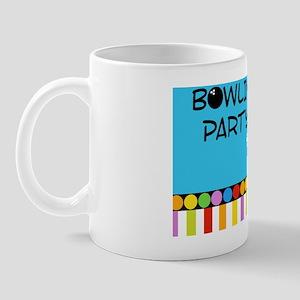 Bowling Party Yard Sign Mug