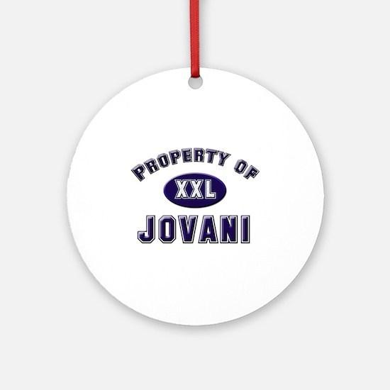 Property of jovani Ornament (Round)