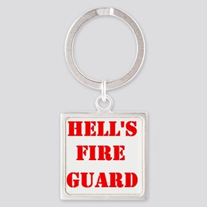 hells fire guard Square Keychain