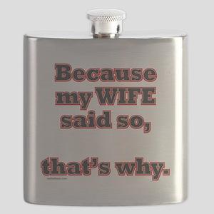 BecauseMyWifeSaidSo Flask