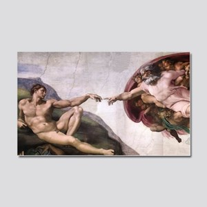 Creation of Adam Car Magnet 20 x 12