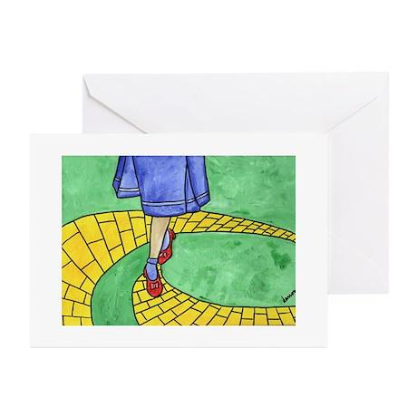 Wizard of Oz Greeting Cards (Pk of 10) Greetin