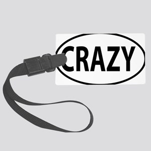 CRAZY Large Luggage Tag
