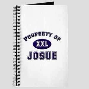Property of josue Journal