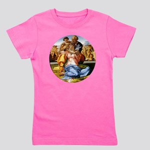 The Holy Family with Infant St John Girl's Tee