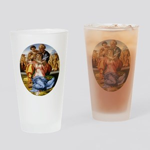 The Holy Family with Infant St John Drinking Glass