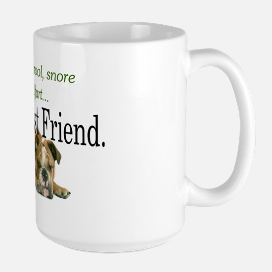 MansBestFriend Large Mug