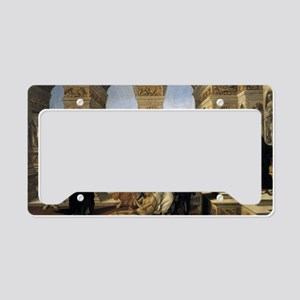 Calumny of Apelles License Plate Holder