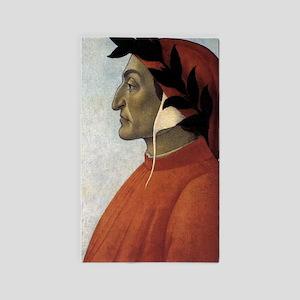 Portrait of Dante 3'x5' Area Rug