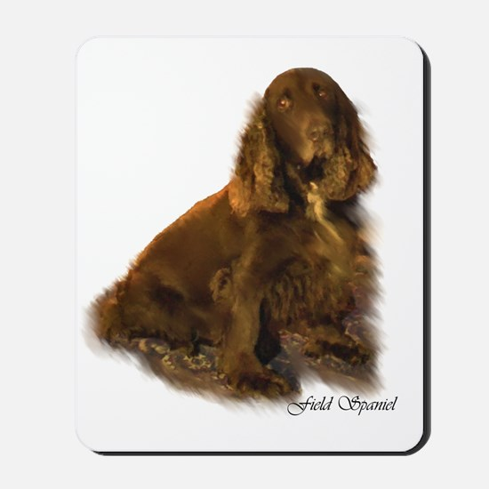 Field Spaniel Mousepad