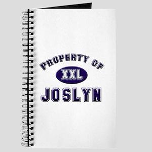 Property of joslyn Journal