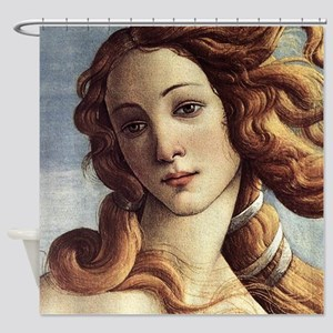 The Birth of Venus (detail) Shower Curtain