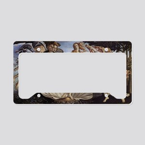 The Birth of Venus License Plate Holder