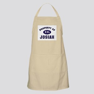 Property of josiah BBQ Apron