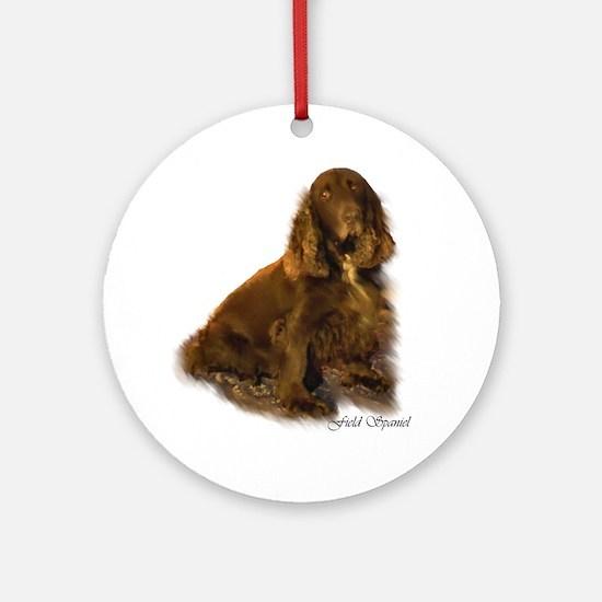 Field Spaniel Ornament (Round)