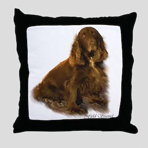 Field Spaniel Throw Pillow