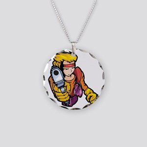 anime_fighter_008c Necklace Circle Charm