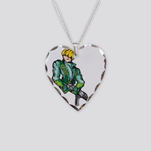 anime_fighter_031c Necklace Heart Charm
