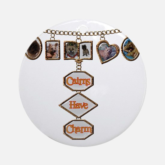 cairnshavecharm Round Ornament