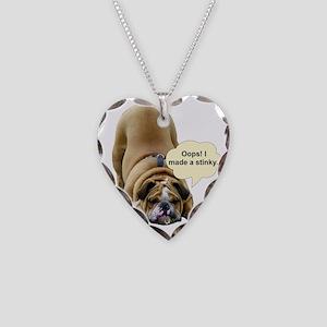 Stinky Necklace Heart Charm