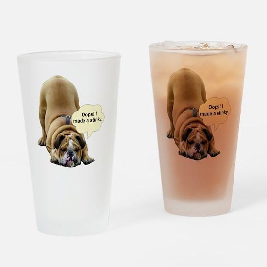 Stinky Drinking Glass