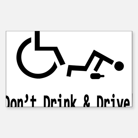 dont-drive-drunk Sticker (Rectangle)