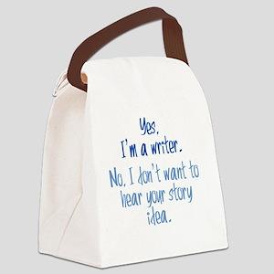 story-idea_rnd2 Canvas Lunch Bag