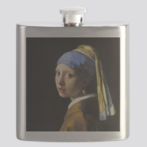 Girl With a Pearl Earring Flask