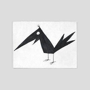 Crow 5'x7'Area Rug