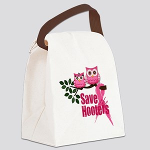 save the hooters2 Canvas Lunch Bag