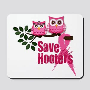 save the hooters2 Mousepad