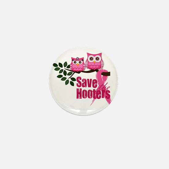 save the hooters2 Mini Button