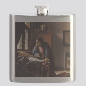 The Geographer Flask